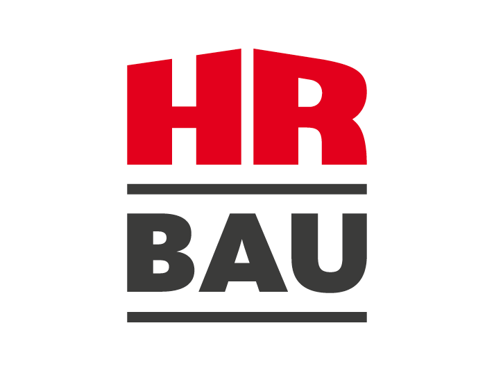 HR Bau logo re-design by Louisa Fröhlich
