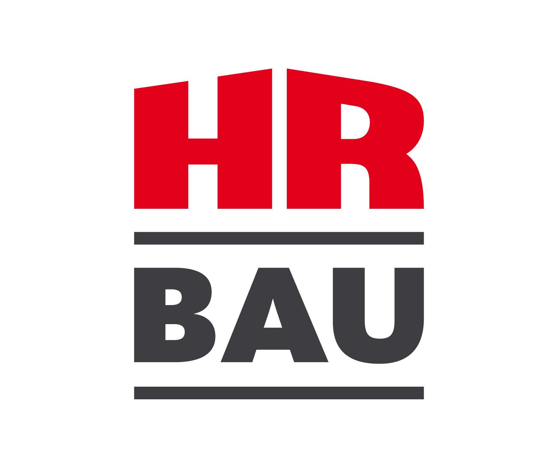 HR Bau logo re-design by Louisa Fröhlich