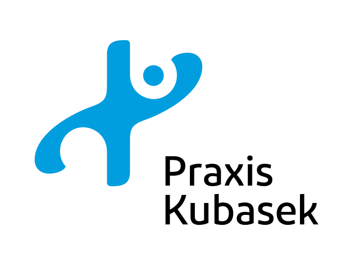 Praxis Kubasek logo re-design by Louisa Fröhlich