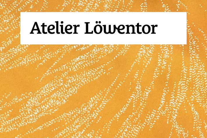 Atelier Löwentor logo and corporate design by Louisa Fröhlich