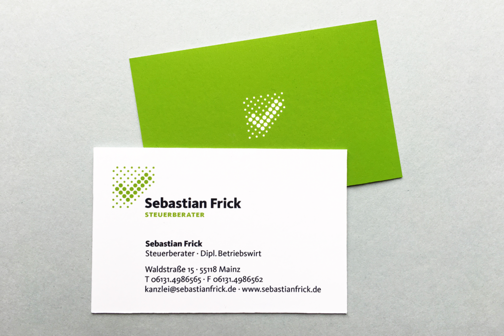 Louisa Fröhlich Corporate Design Steuerberater