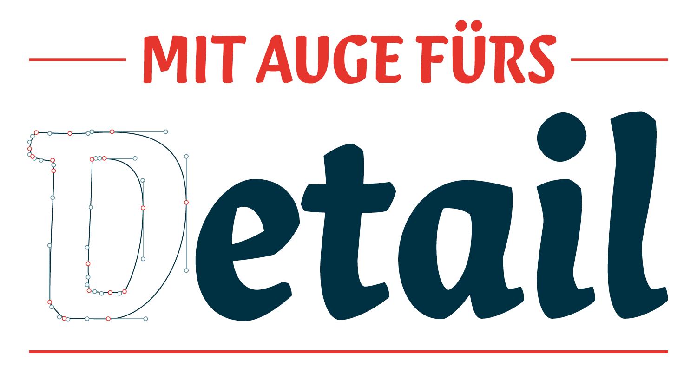 Louisa Fröhlich, Profil und Leistungen, Grafikdesign Schriftgestaltung (Typeface Design)