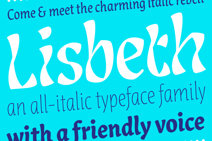 Lisbeth Typeface Design by Louisa Fröhlich